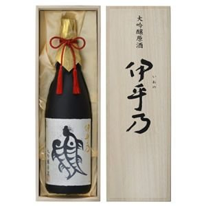 越の初梅 伊乎乃 大吟醸原酒 1800ml(桐箱入り)高の井酒造 日本酒 大吟醸|echigo