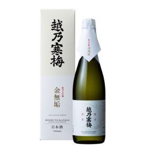 日本酒 越乃寒梅 純米大吟醸酒 金無垢 720ml 石本酒造(あすつく対応)|echigo