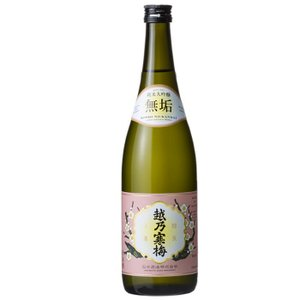 越乃寒梅 純米大吟醸 無垢720ml 石本酒造|echigo