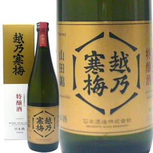 越乃寒梅 特醸酒 720ml 石本酒造 日本酒 echigo