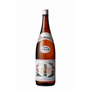 越乃寒梅 大江山産 普通酒 1.8L 日本酒 echigo