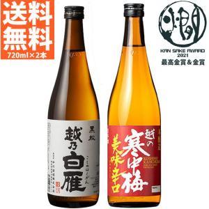 日本酒 飲み比べセット(越後の冬)720ml×2本 送料無料  ギフト バレンタイン|echigo