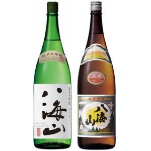 八海山 純米吟醸 1.8Lと八海山 普通酒 1.8L日本酒 2本 飲み比べセット|echigo
