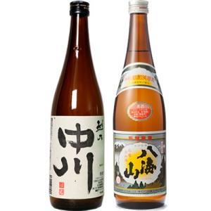 越乃中川 720ml と 八海山 720ml 日本酒 2本 飲み比べセット|echigo