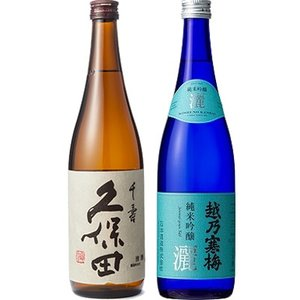 久保田 千寿 吟醸 720ml : 綺麗でスッキリとした味わい、かつ上品で澄んだ香りの久保田。食事と...