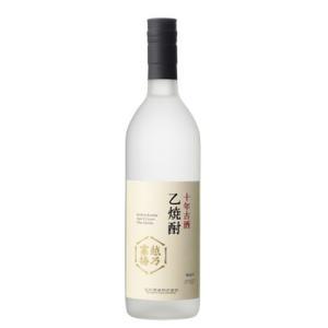 越乃寒梅 十年古酒乙焼酎 720ml 石本酒造|echigo
