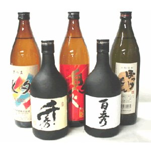 【A-30】芋焼酎あれこれ飲み比べセット(900ml 3本 720ml 2本)|echigo