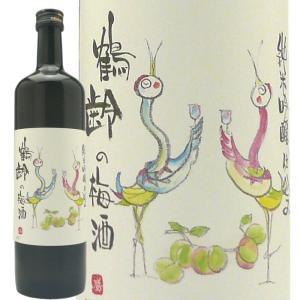 鶴齢の梅酒 純米吟醸仕込み720ml 青木酒造 梅酒 echigo