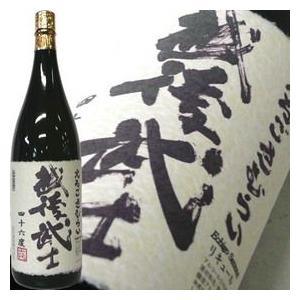 日本酒 越後武士 えちごさむらい 1.8L 46度|echigo