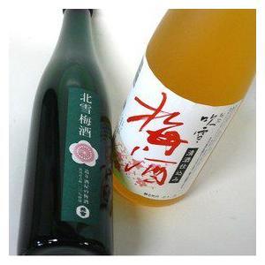 【A−103】【日本酒日本酒ベース梅酒セット<北雪500ml・越路吹雪720ml> echigo