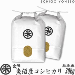 新米 28 玄米 魚沼産コシヒカリ 特A 30kg 5kg×...