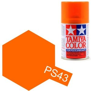 ポリカーボネートスプレー No.43 PS-43 フロストオレンジ 86043