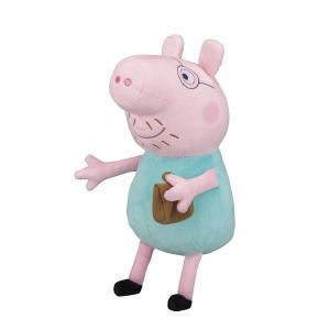 ペッパピッグ (Peppa Pig) なかよしフレンズ ぬいぐるみ ダディピッグ