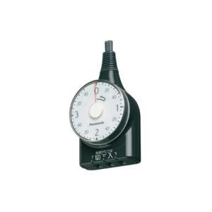 パナソニック ダイヤルタイマー (3時間形) (1m) (ブラック) (WH3211BP)|ecj