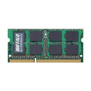 バッファロー PC3-12800(DDR3-1600)対応 204Pin用 DDR3 SDRAM S.O.DIMM 4GB(MV-D3N1600-4G)|ecj