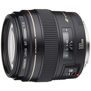CANON 中望遠レンズ EF100mm F2 USM(6群8枚)[2518A002](EF10020U)