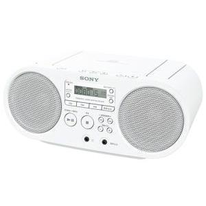 SONY CDラジオ ホワイト (ZS-S40/W)