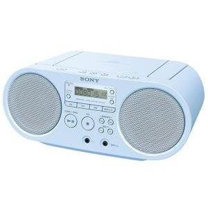 SONY CDラジオ ブルー (ZS-S40/L)