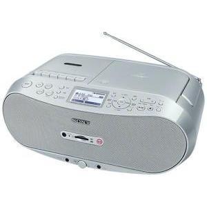 SONY CDラジオカセット メモリーレコーダー (CFD-RS501)