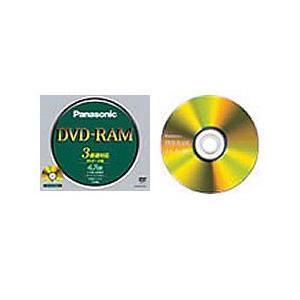 パナソニック データ用書換型 DVD-RAM 4.7GB(ノンカートリッジ)(LM-HC47L)