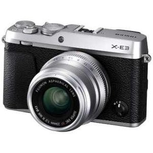 富士フイルム FX-E3L23KS ミラーレス一眼カメラ 「FUJIFILM X-E3」 XF23mmF2レンズキット シルバー(F X-E3LK23F2-S)|ecj