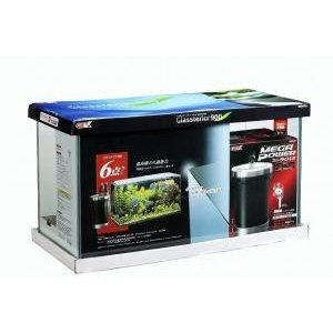 GEX(ジェックス) グラステリア900 6点セット(900×400×H505mm) 【セット水槽/大型水槽(90cm以上)】【送料無料】|ecjoyecj23