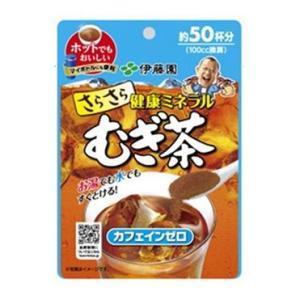 伊藤園 さらさらむぎ茶 インスタント 40g【入数:6】