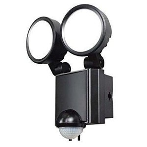 朝日電器 エルパ(ELPA) LED防雨センサーライト 2灯 ESL-SS802AC ecjoyecj23