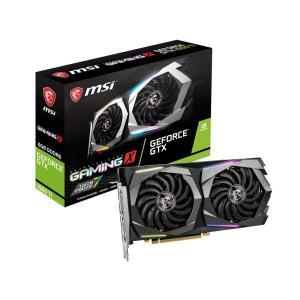 新製品 MSI GeForce GTX 1660 Ti GAMING X 6G  GTX1660Ti/GDDR6 6GB  GeForce GTX 1660Ti 搭載グラフィック