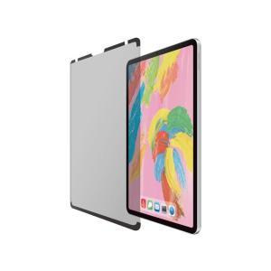 エレコム iPad Pro 11 2018年用のぞき見防止フィルタ/ナノサクション/360度(TB-A18MFLNSPF4)|ecjoyecj23
