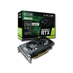 ELSA エルザ  GeForce RTX 2060 Super S.A.C  GD2060-8GERSS