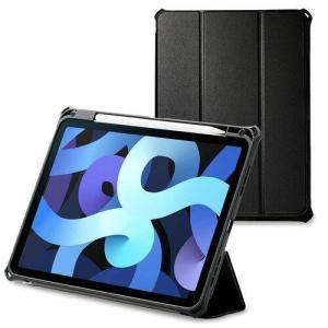 エレコム iPad Air 10.9インチ第4世代2020年レザーケース手帳型ZSブラック(TB-A20MZEROBK)|ecjoyecj24