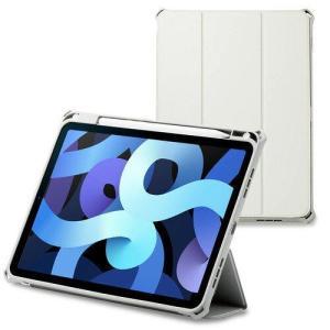 エレコム iPad Air 10.9インチ第4世代2020年レザーケース手帳型ZSグレー(TB-A20MZEROGY)|ecjoyecj24