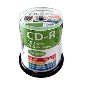 磁気研究所 データ用CD-R 52倍速 100枚 スピンドル HDCR80GP100(HDCR80GP100)|ecjoyecj24