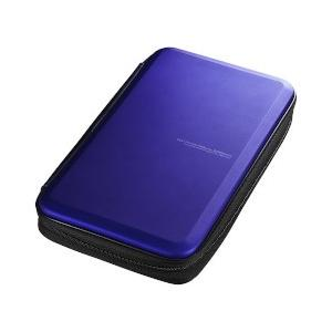 サンワサプライ ブルーレイディスク対応セミハードケース(56枚収納・ブルー) FCD-WLBD56BL|ecjoyecj24