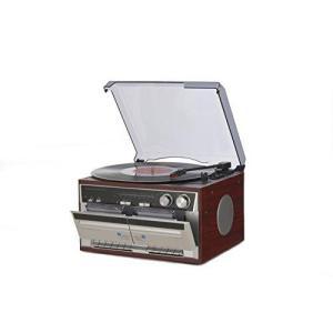 YAMAZEN Wカセットレコードプレーヤー (TT386W)|ecjoyecj24