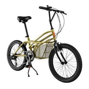 DOPPELGANGER(ドッペルギャンガー)20インチ カーゴバイク [ROADYACHTシリーズ] シマノ7段変速  オリジナルカーキ 330-C-BG