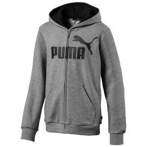 プーマ / スウェット / (セール)PUMA(プーマ)ジュニアスポーツウェア スウェット ESS フーデッドスウェットジャケット 85367603 ボーイズ ミディアム グレの商品画像|ナビ