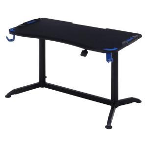 不二貿易 GAMING DESK XeNO(ゼノ) PRO−01 BLUE 品番:38137 北海道、沖縄、離島配送不可 ecjoyecj24
