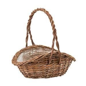 POSH LIVING(ポッシュリビング) ガーデンバスケット ウェーブL 11660 11660 (1503997)|ecjoyecj24