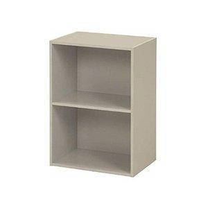 不二貿易(Fujiboeki) 不二貿易 リビング収納 カラー ボックス 2段 ホワイト 幅41.8x奥行29.5x高さ60cm 96502|ecjoyecj24
