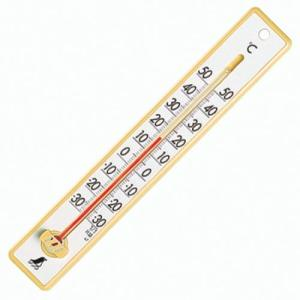 シンワ測定 寒暖計 48352 プラスチック 20cm イエロー|ecjoyecj25