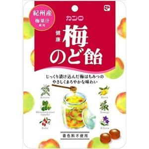 カンロ 健康梅のど飴 90g【入数:6】