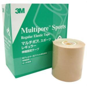 スリーエムヘルスケア 3M マルチポア スポーツ 粘着性綿布伸縮包帯 75mm×5m 4ロール ecjoyecj26