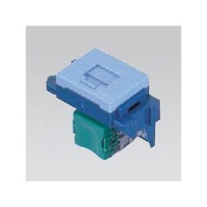 ナショナル 埋込型情報モジュラジャック CAT5E ブルー NR3160L ecjoyecj26