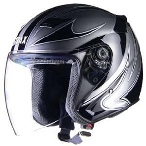 リード工業 LEAD STRAX ジェットヘルメット SJ-9 Mサイズ シルバー (1905bo) ecjoyecj26