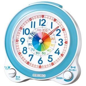 セイコー 知育目ざまし時計 色:薄青パールの商品画像