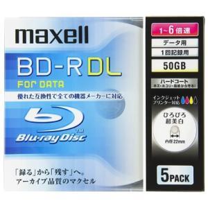 マクセル 日立マクセ ブルーレイディスクBL-RDL5枚BR50PWPC.5S 367632 ecjoyecj26