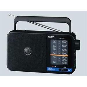 ELPA(エルパ) AM/FMポータブルラジオ ER-H100|ecjoyecj26