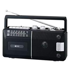 朝日電器 ELPA(エルパ) ラジオカセットレコーダー ADK-RCR300|ecjoyecj26